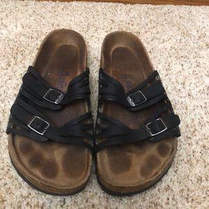 Birkenstock sandals.  Size 38. US 8